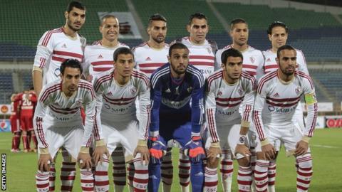 Egyptian side Zamalek in January 2015