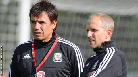 Chris Coleman and Paul Trollope