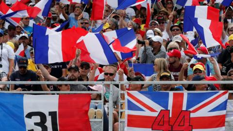 french gp fans