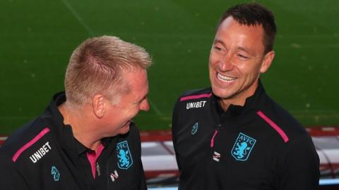 John Terry and Dean Smith