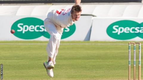 Australian paceman Michael Hogan was the pick of Glamorgan's bowlers