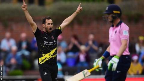 102749561 lewisgregoryrexfeatures - T20 Blast: Somerset beat Middlesex but rain sees three games called off