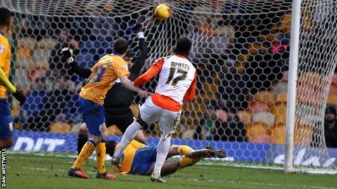 Luton's second goal
