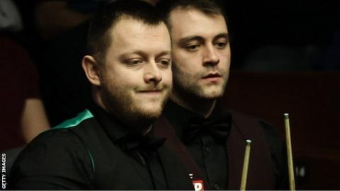 Mitchell Mann made it to the first round proper of the World Championship at The Crucible in 2016, losing 10-3 to Mark Allen