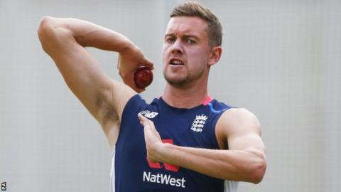 England's Jake Ball
