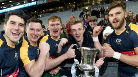 Ireland beat Australia in Dublin in November 2015