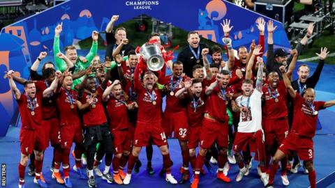 Liverpool won last season's Champions League after beating Tottenham in the final