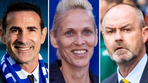 Angelo Alessio, Shelley Kerr & Steve Clarke - wishes for the new season