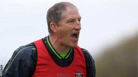 Kevin Ryan took on the Antrim job in 2012