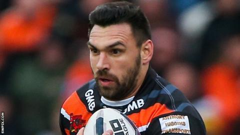 Castleford Tigers forward Matt Cook