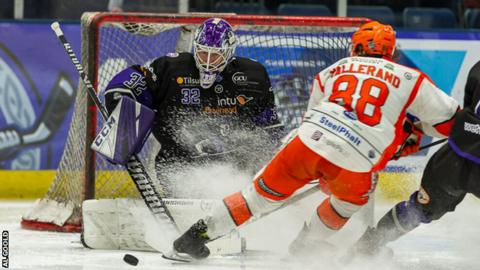 Glasgow Clan against Sheffield Stealers
