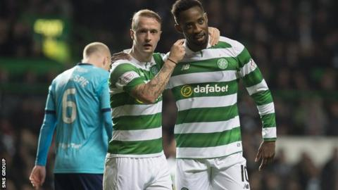 Leigh Griffiths and Moussa Dembele