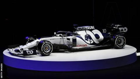 AlphaTauri presents new-look F1 auto for 2020