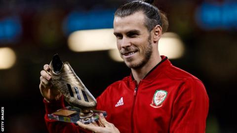 Bale to miss Wales' Nations League clash against Ireland