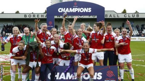 Arsenal Women are the reigning Women's Super League champions