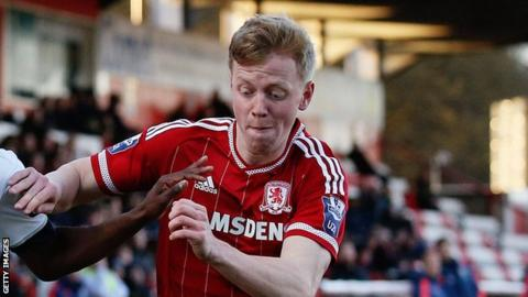 Nathan McGinley Middlesbrough