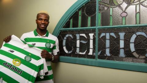 Boli Bolingoli-Mbombo signs for Celtic