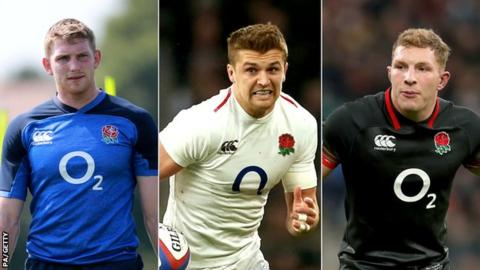 Injuries force England to make three changes for Wales clash