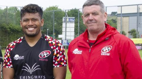 Suva Ma'asi and Chris Stirling