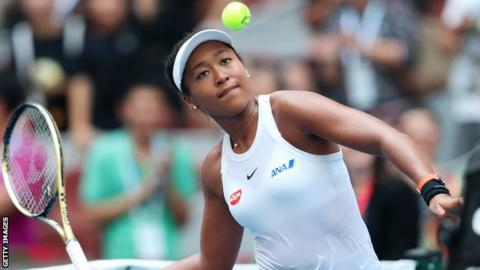 Osaka meets Andreescu in China quarters