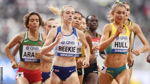 Jemma Reekie of Great Britain