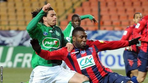 Bruce Abdoulaye in action for Clermont-Ferrand