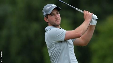 Bradley Neil has already played at the Masters, the Open and the US Open