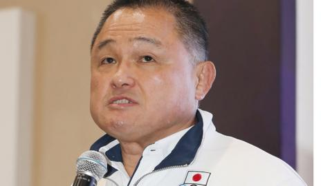 Japan's chef de mission Yasuhiro Yamashita