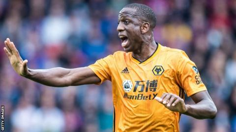 Wolves defender Willy Boly