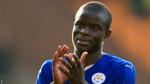 N'Golo Kante swapped Leicester for Chelsea in a £30m move