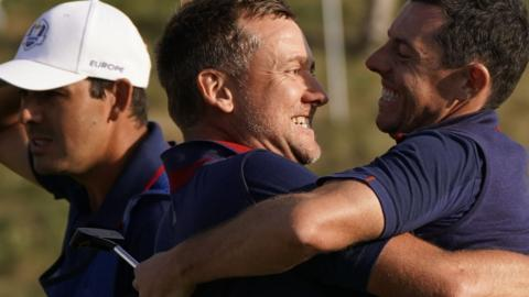 USA  can't pull off comeback, Europe wins Ryder Cup