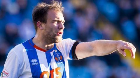 Kilmarnock defender Conrad Balatoni