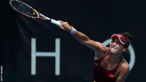Heather Watson: British number two into Hobart International last eight