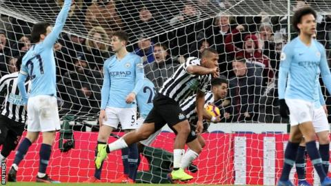 e13392f0232 Salomon Rondon scored his 30th Premier League goal - all 30 have come from  inside the box