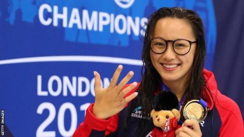 Alice Tai has won gold medals in S8 100m freestyle, backstroke, butterfly. the 400m freestyle and S8 50m freestyle at the World Para-swimming Championships