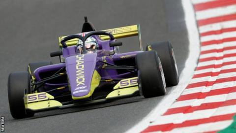 British racing driver Jamie Chadwick clings on to win W Series title