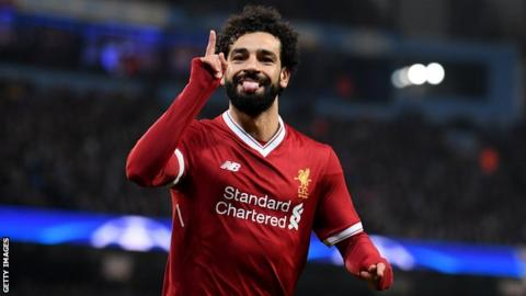 Salah hits 40 goals with header (insert Harry Kane joke here)