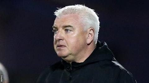 Gavin Dykes was previously in charge of youth development at Sligo Rovers