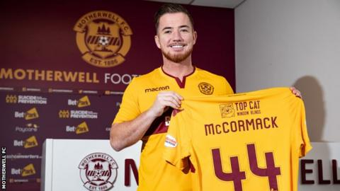 Ross McCormack rejoins Motherwell on loan from Aston Villa