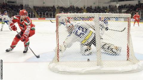 Joey Haddad scored twice for Devils in the penalty shoot-out