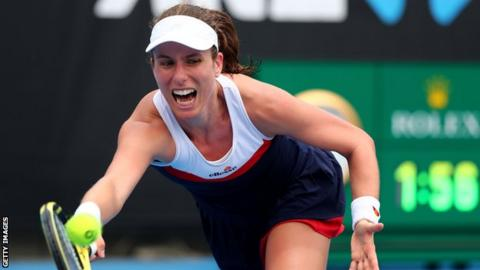 Johanna Konta and Serena Williams reach Australian Open second round