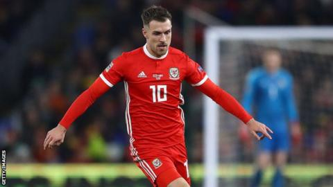 best service b11bd cc67d Euro 2020: Wales trio to miss Slovakia game, but Aaron ...