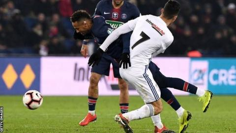 Ligue 1: Dembele stars as Lyon end PSG's unbeaten run