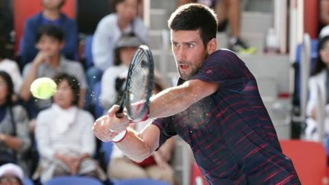 Novak Djokovic downs John Millman to win his first Japan Open title
