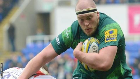 London Irish prop Ollie Hoskins