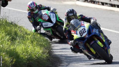 Derek Sheils finished ahead of Michael Sweeney in three races