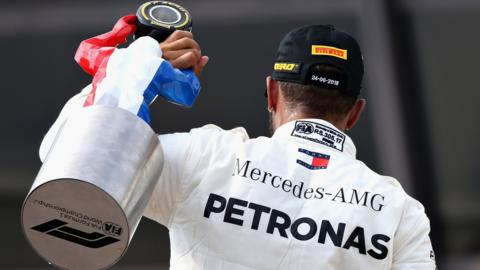 Lewis Hamilton wins the French Grand Prix