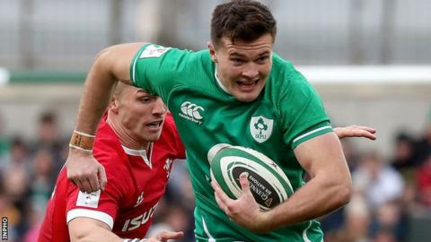 Northern Ireland Jacob Stockdale