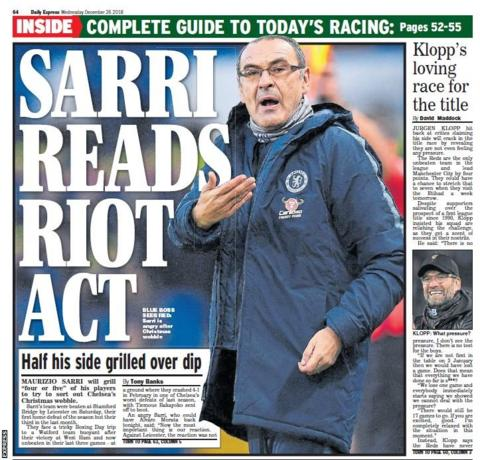 Wednesday's Express