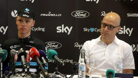 UCI president calls for investigation into Team Sky